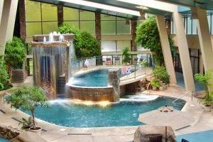 Splash away at Glenstone Lodge, one of the Gatlinburg hotels with indoor pool