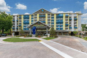 The Margaritaville Resort is among the Gatlinburg hotels with indoor pool