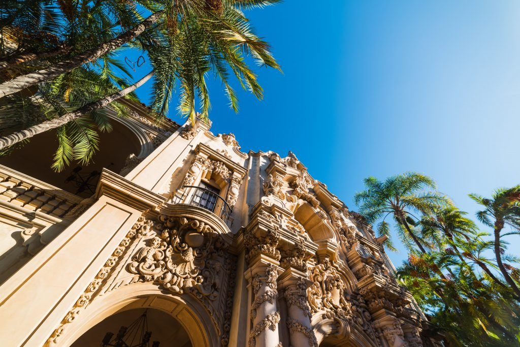 See architecture like this using the Balboa Park Guide
