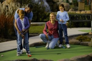 Enjoy a round of mini-golf in Myrtle Beach