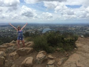 Climbing Cowles Mountain definitely made our list of free things to do in San Diego.