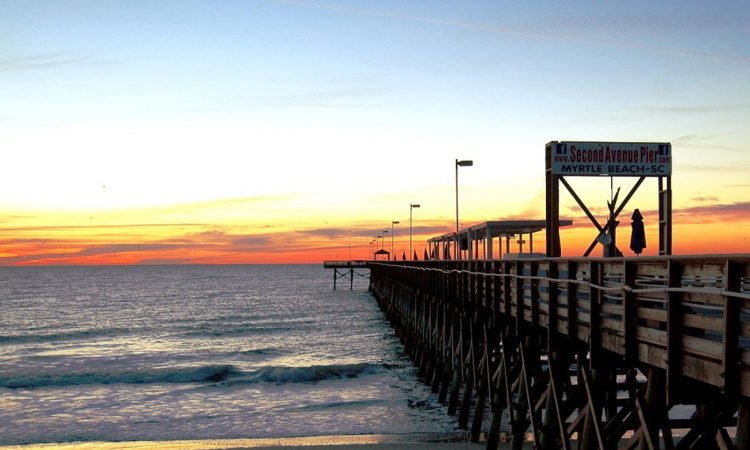Myrtle Beach Fishing Piers