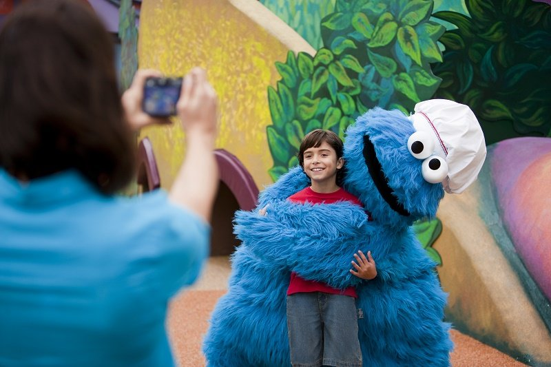 Sesame Street¨ Forest of Funª at Busch Garden¨ Williamsburg features family-friendly rides, playgrounds and Sesame Street's beloved characters. ª/©2016 Sesame Workshop. All Rights Reserved. ©2016 SeaWorld Parks & Entertainment, Inc. All Rights Reserved.