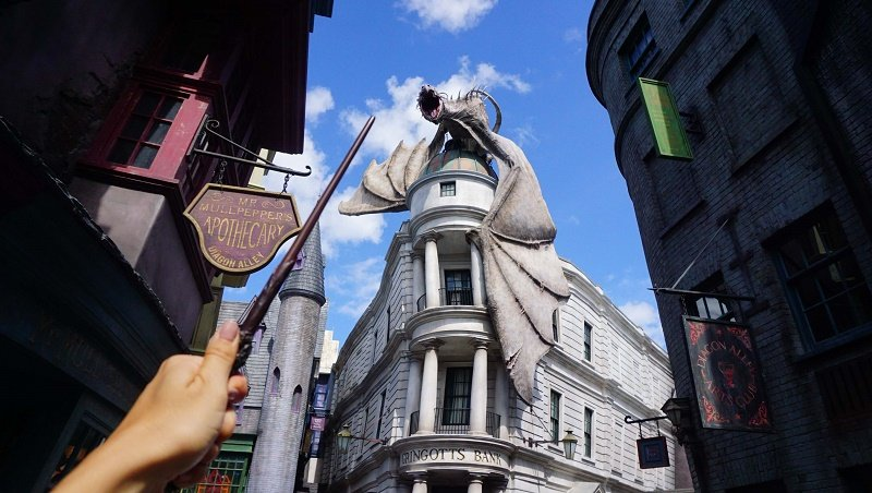 Harry Potter Gringotts Bank RSZ