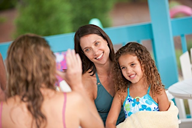 Families enjoy summertime fun at Water Country USA®, the mid-Atlantic's largest water park. ©2016 SeaWorld Parks & Entertainment, Inc. All Rights Reserved.