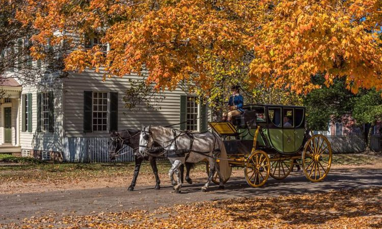 Fall is the best time to visit Williamsburg
