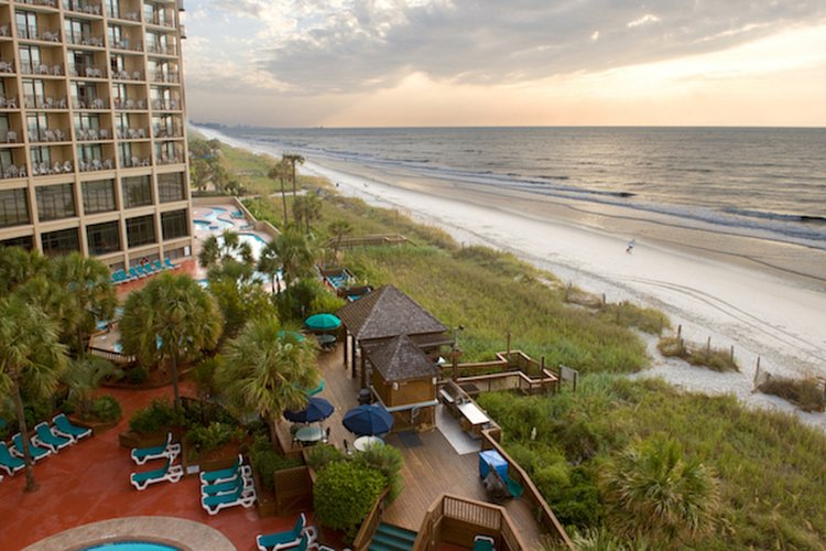 A beachfront hotel in Myrtle Beach