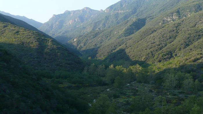 Zuma Canyon is one of the most romantic places in LA