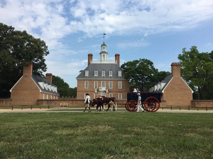 Go to Colonial Williamsburg during your weekend in Williamsburg VA