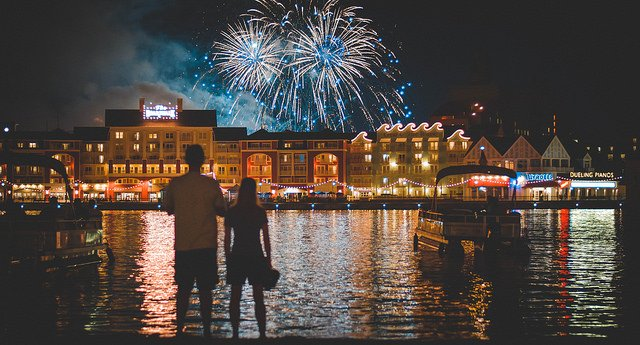 A Disney World Vacation for Adults must include a fireworks show, like the celebrations at Epcot