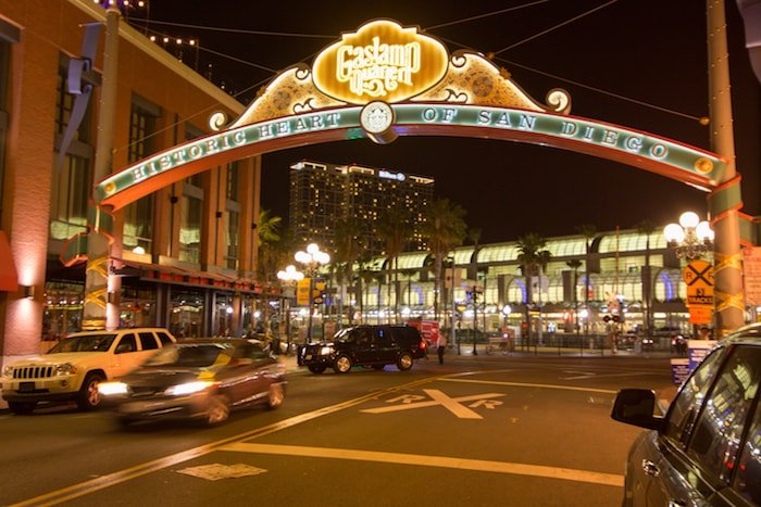 Visit Gaslamp Quarter for entertainment, food, and more.