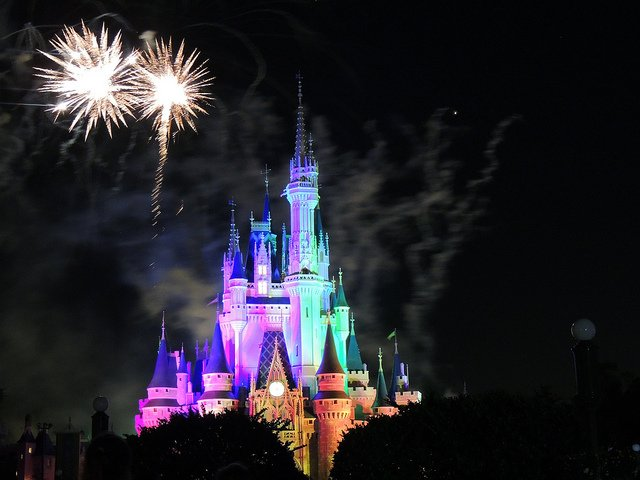 Cap off your Disney World Vacation for Adults with a fireworks show