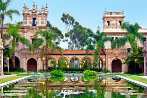 Visiting Balboa Park is among the free things to do in San Diego.