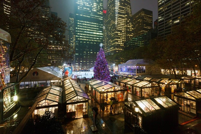 Bank of America Winter Village FB RSZ