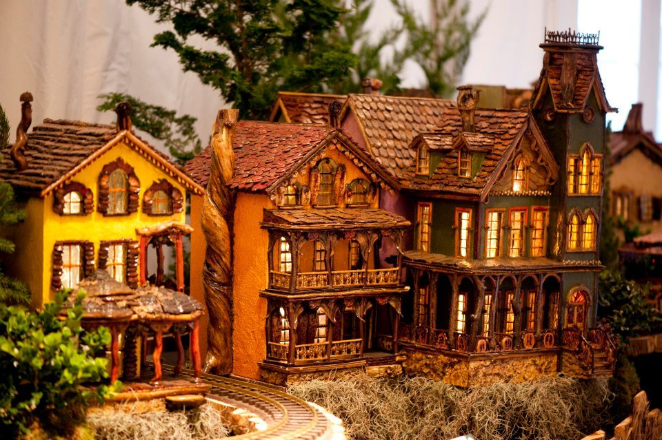 NYC Holiday Train Show FB