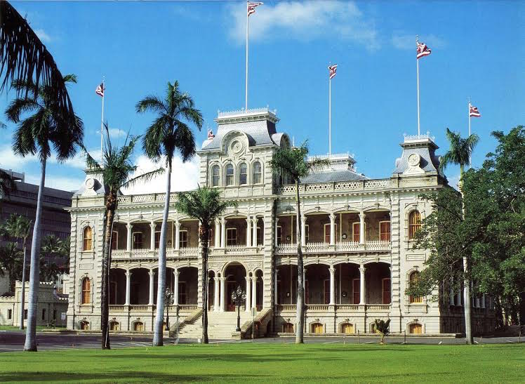 Be sure to visit Iolani Palace while in Oahu.