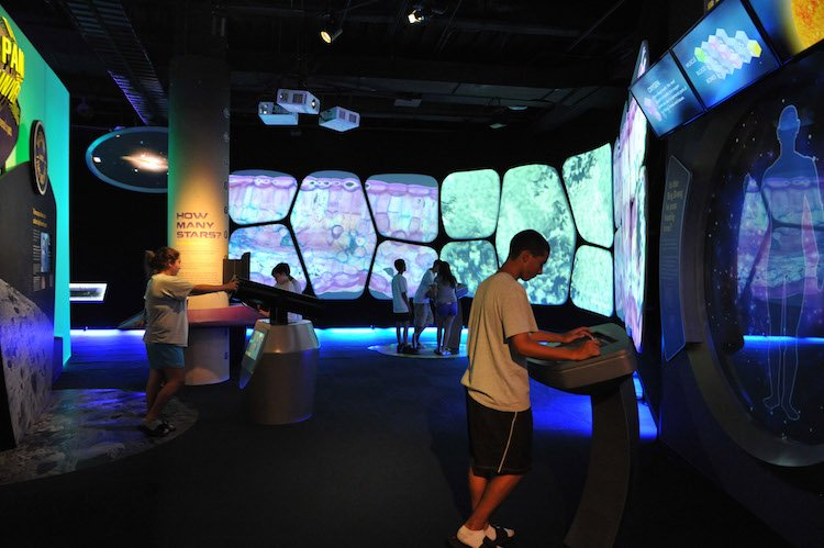 Adler Planetarium is an interactive place in Chicago for kids.