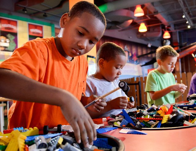 LEGOLAND is a great place to visit in Chicago for kids.