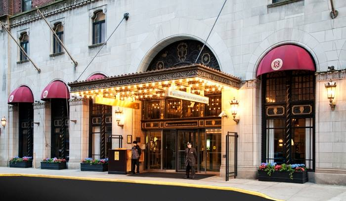 The Millennium Knickerbocker Hotel is a great place to stay when looking for where to stay in Chicago on a budget.