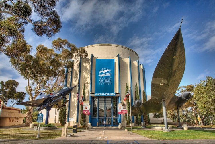 A trip to the San Diego Air and Space Museum is affordable with a Go San Diego Card.