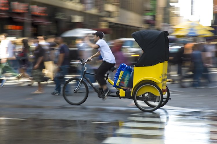 No matter if you're in Central Park or Times Square, avoid the pedicabs.
