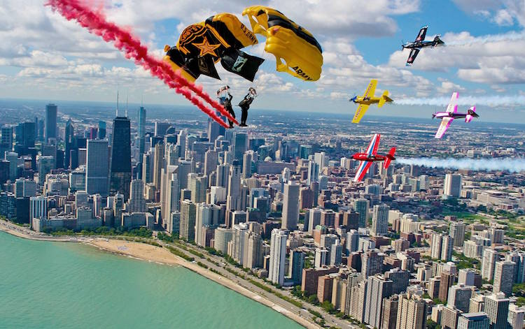 Interested in the Chicago Air and Water Show? Check out the Chicago Festival Guide for details.