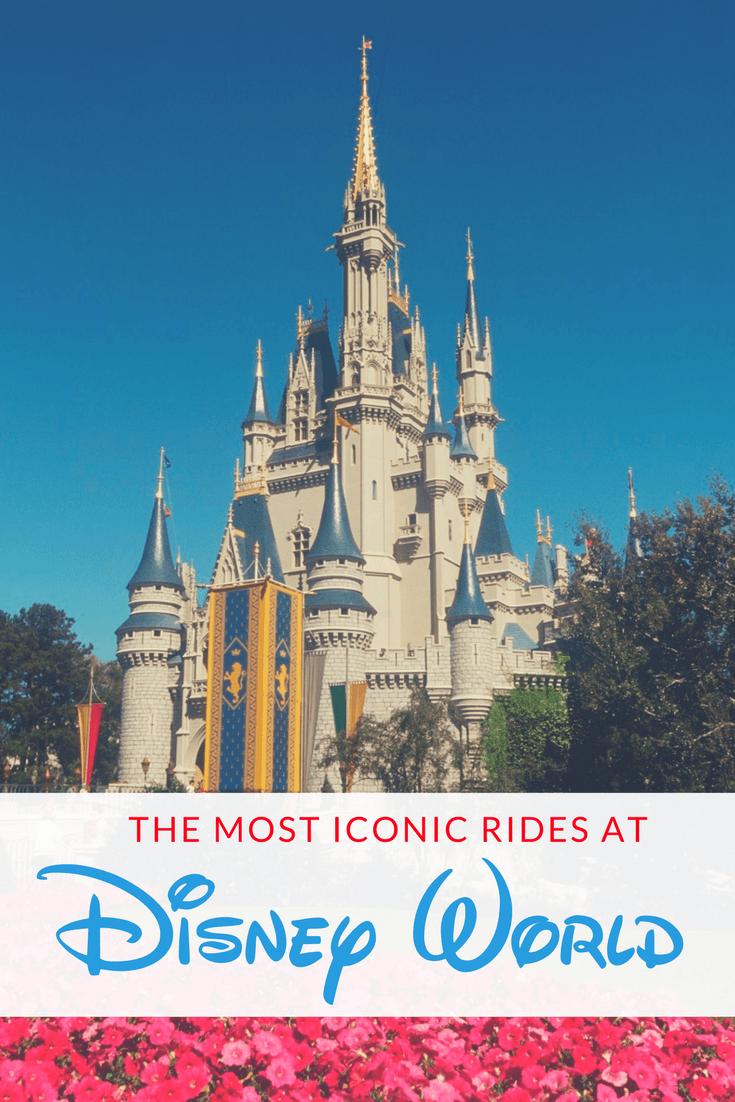 iconic rides at Disney World