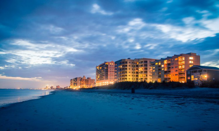 things to do in Myrtle Beach at night