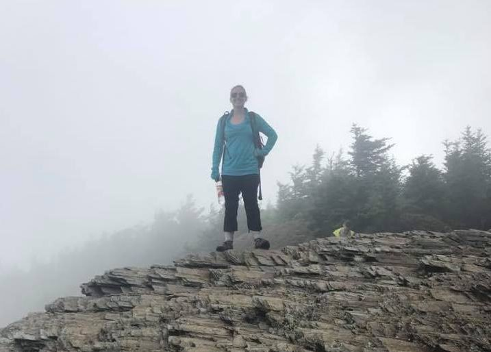 Alum Cave trail to Mt. LeConte