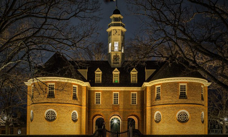 Colonial Williamsburg Capitol building