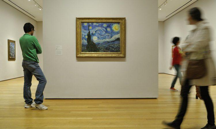 Starry Night Museum Of Modern Art