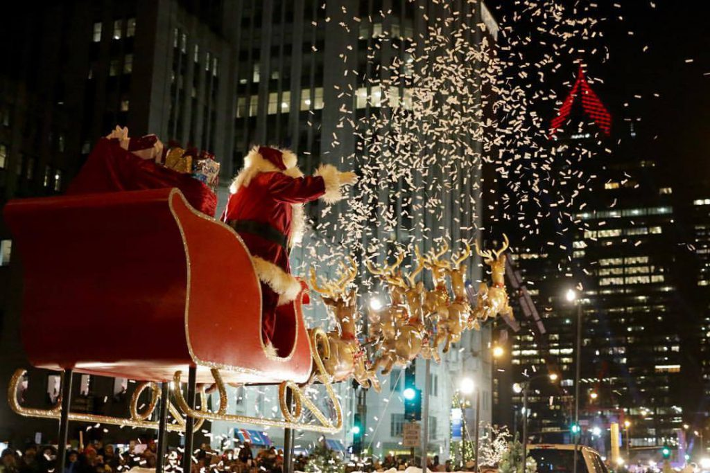 Christmas activities in Chicago
