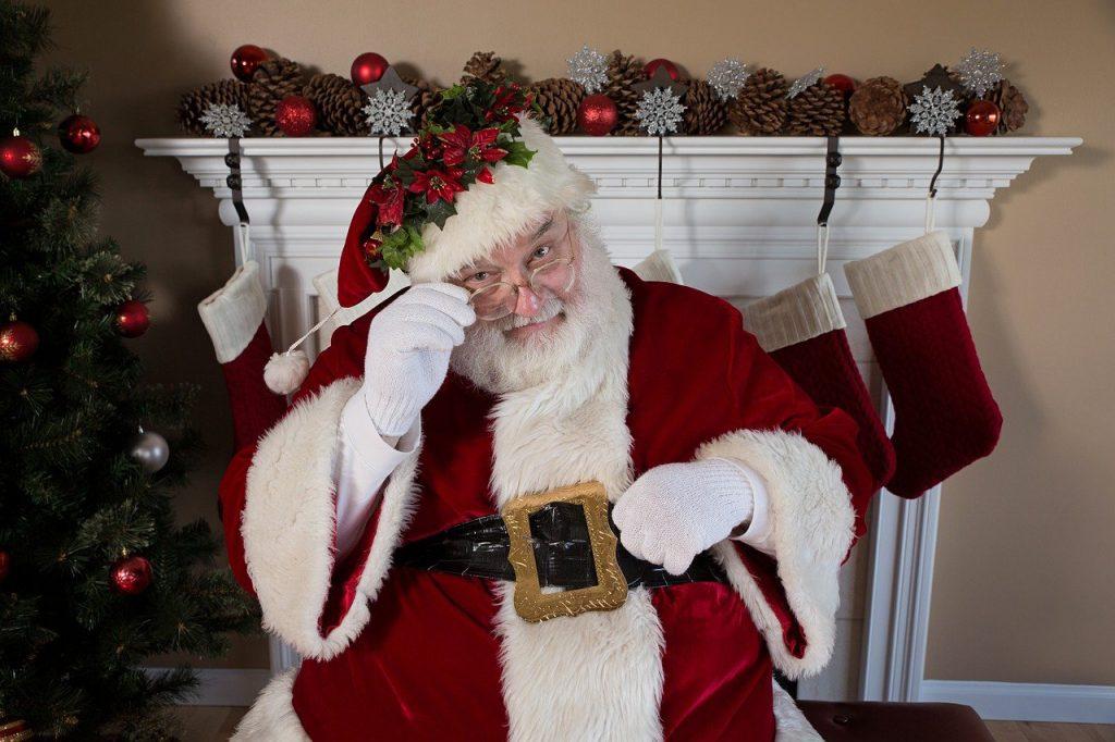 Santa in Orlando