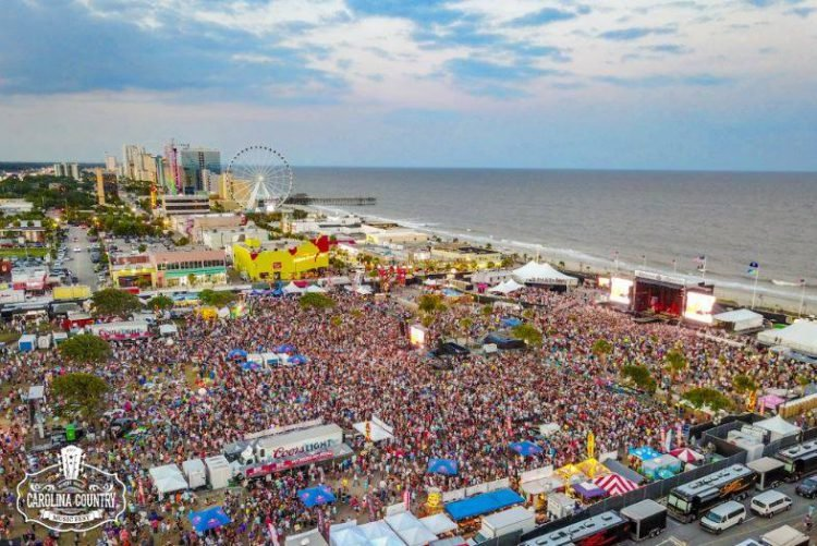 Thousands of people attend the Carolina Country Music Fest in Myrtle Beach