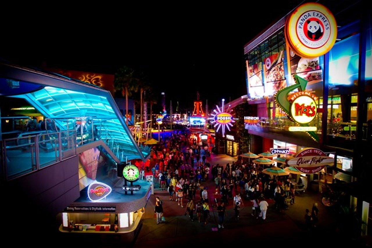 Universal Orlando Citywalk Restaurants