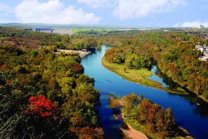 Lake Taneycomo is among the top things to do in Branson for adults.