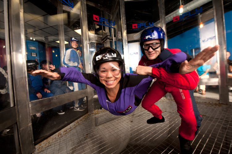 No need to debate what to do in Orlando at night. Go skydiving!