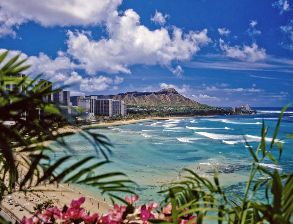 Oahu is considered the least expensive Hawaiian island to visit