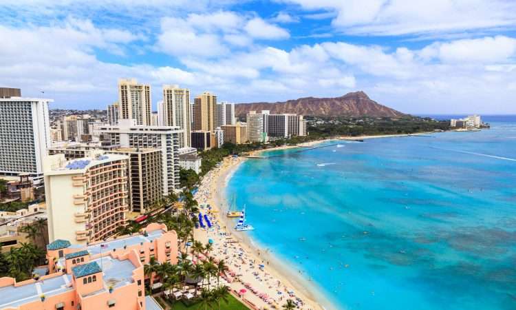 The least expensive Hawaiian Island to visit is Oahu