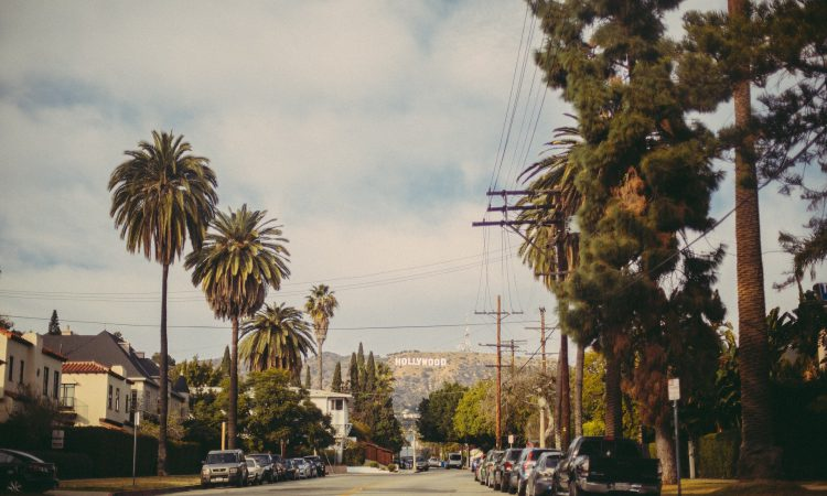 Los Angeles neighborhoods with Hollywood sign