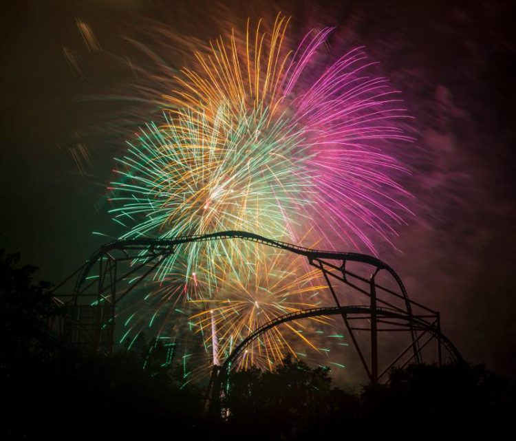 Spend a Williamsburg 4th of July watching the fireworks at Busch Gardens