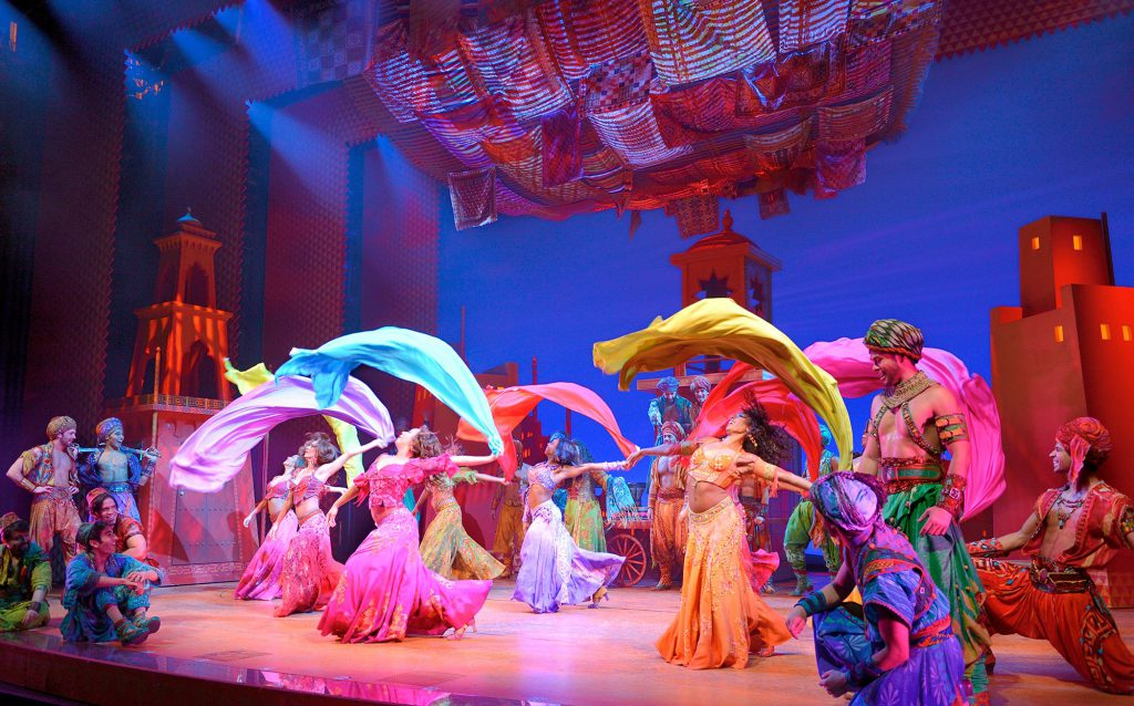 Aladdin dance scene - Los Angeles Packing List