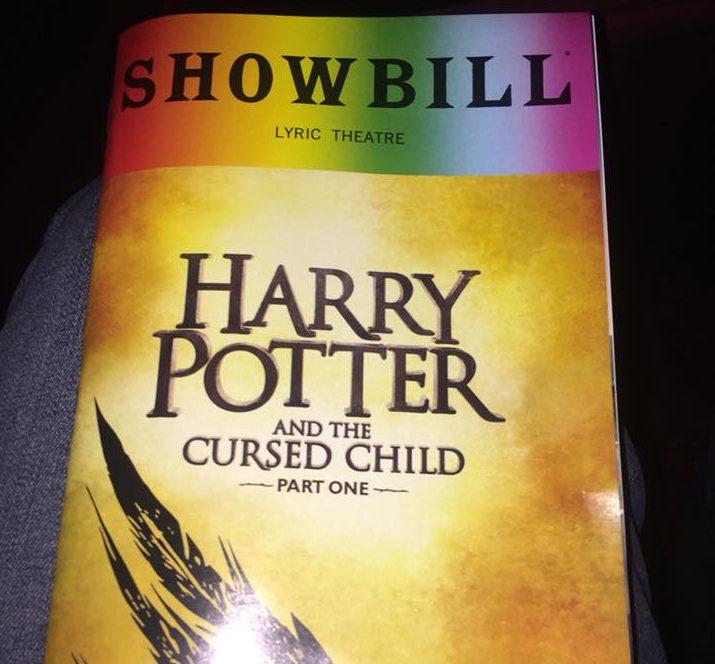 The Harry Potter play NYC showbill