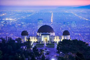 Hollywood Tourist Attractions include Griffith Observatory
