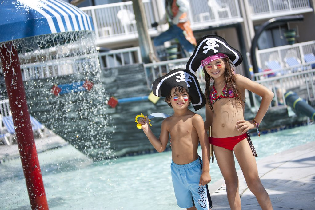 Another kid friendly Myrtle Beach resort is Captains Quarters.