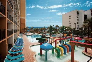The Caravelle Resort has plenty of outdoor pools to choose from.