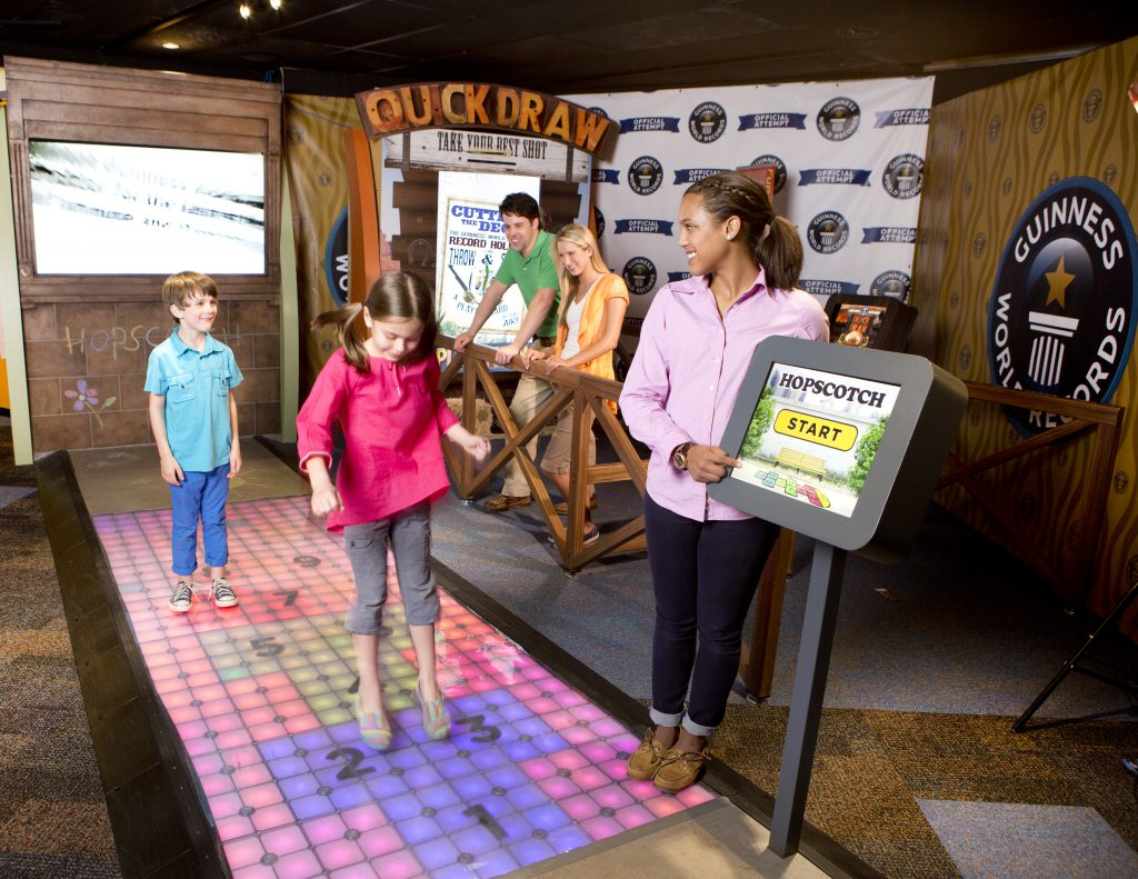 Bring the family to the Guinness World Records Adventure