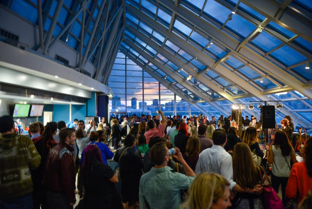 Guests attend Adler After Dark in Chicago
