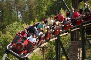 Fire Chaser Express at Dollywood