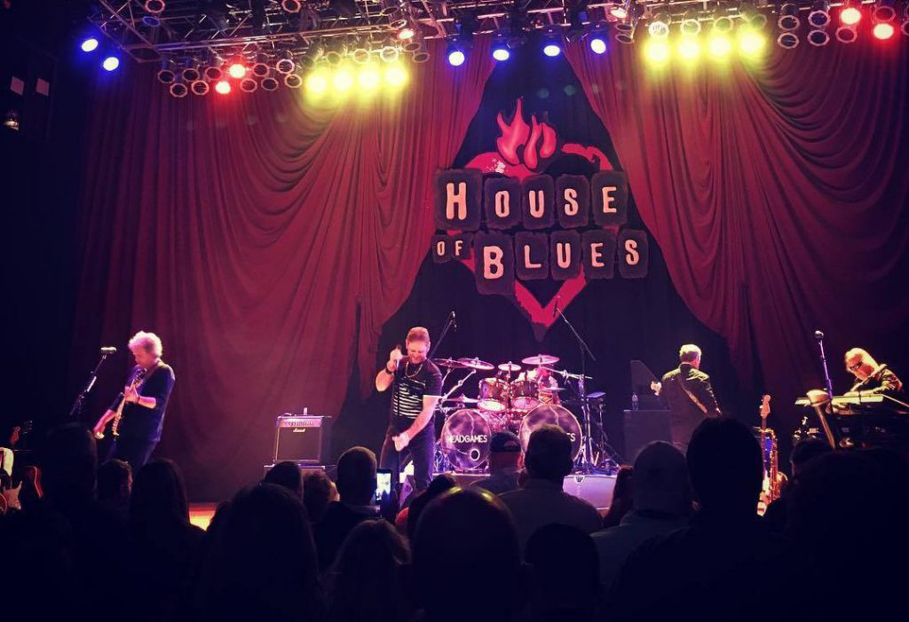 Live Music in Myrtle Beach can be found at the House of Blues